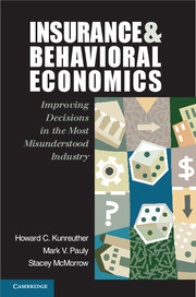 Insurance and Behavioral Economics Cover Image