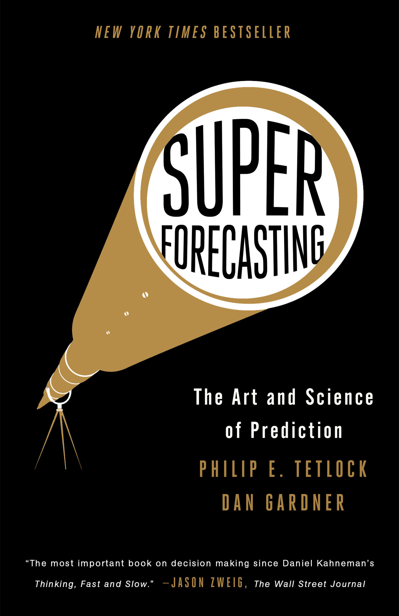 Superforecasting Cover Image