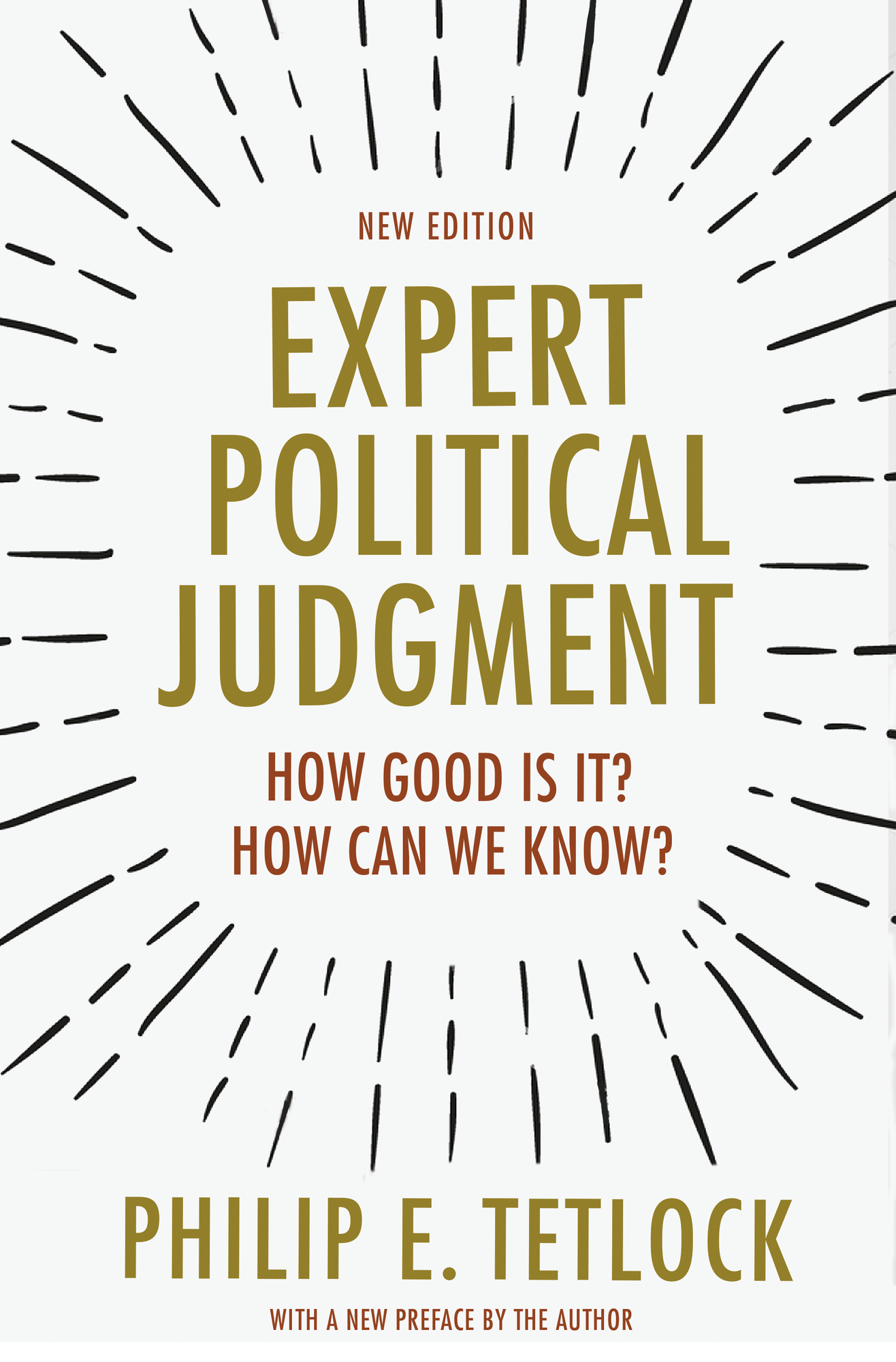 Expert Political Judgment Cover Image