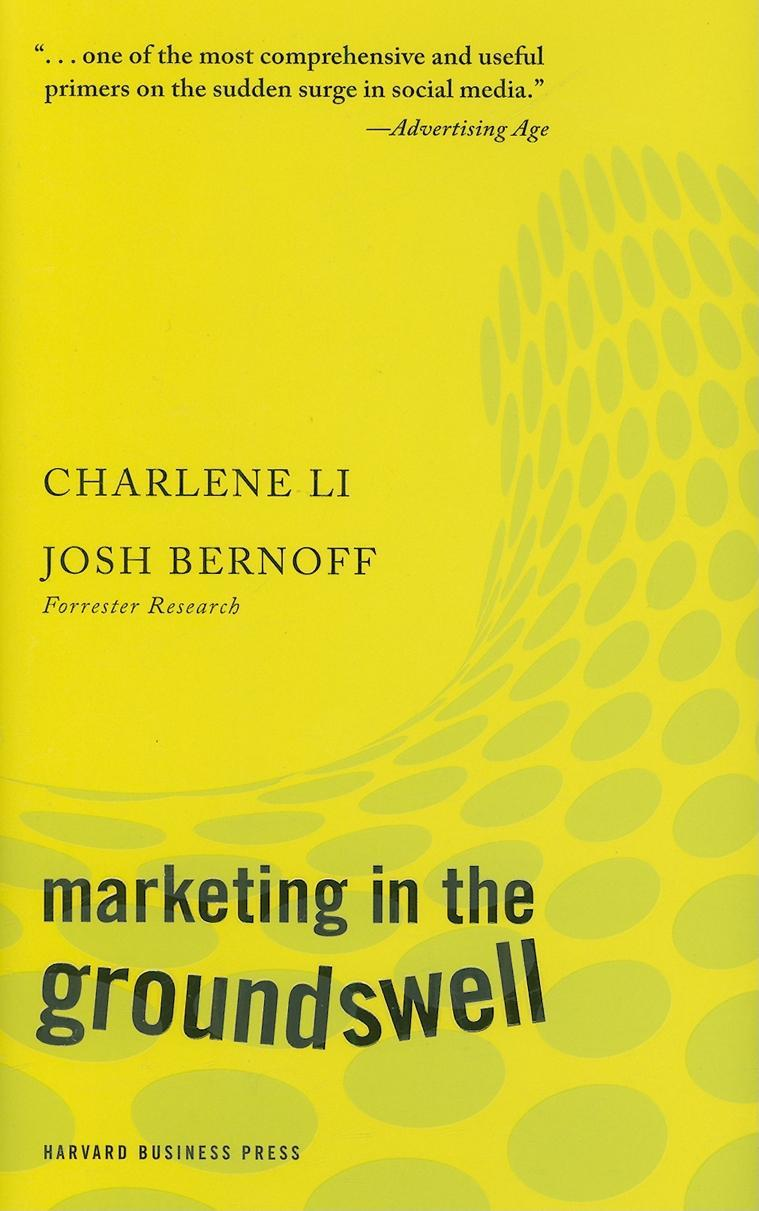 Marketing in the Groundswell Cover Image