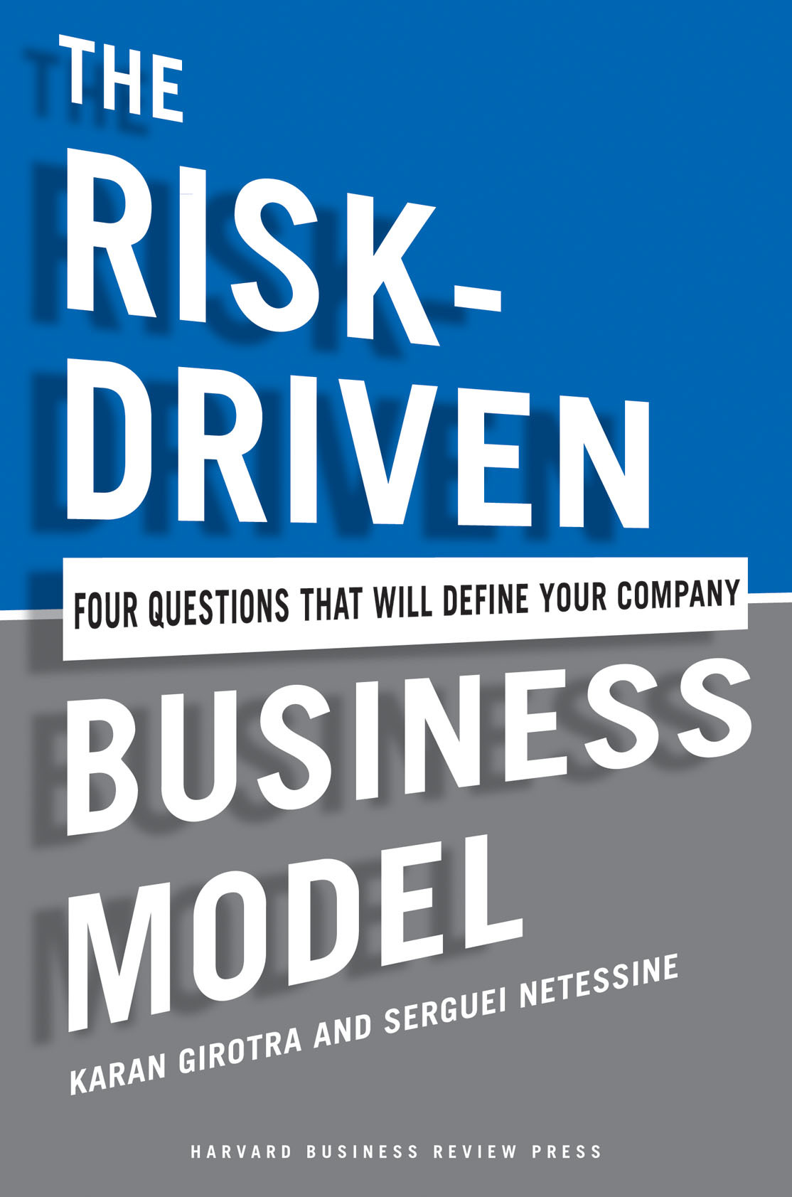 The Risk-Driven Business Model Cover Image